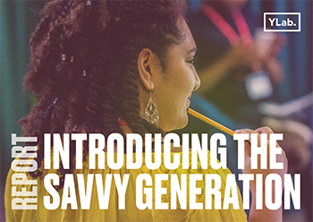 Introducing The Savvy Generation Report cover page