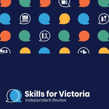 Skills for Victoria branding